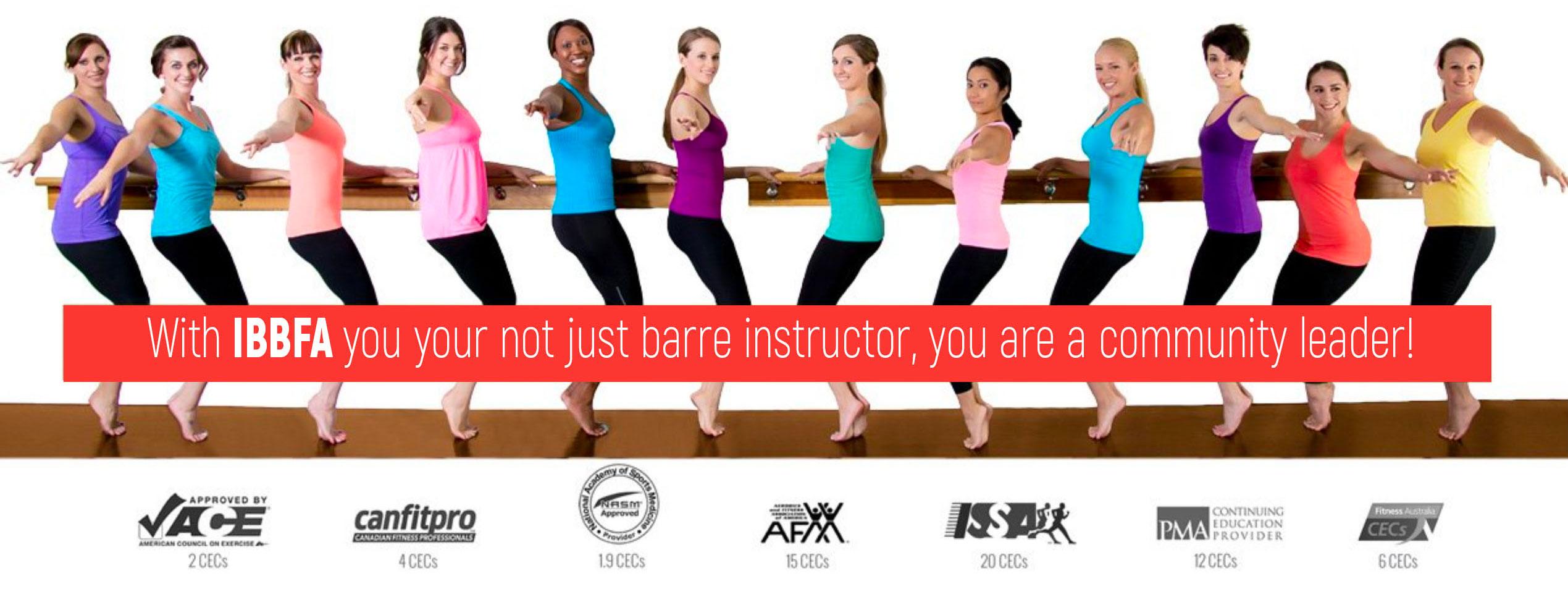 International barre teacher training and instructor certification start your training xflitez Gallery